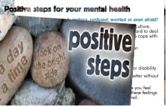 image - Positive Steps - for your mental health (z-card)