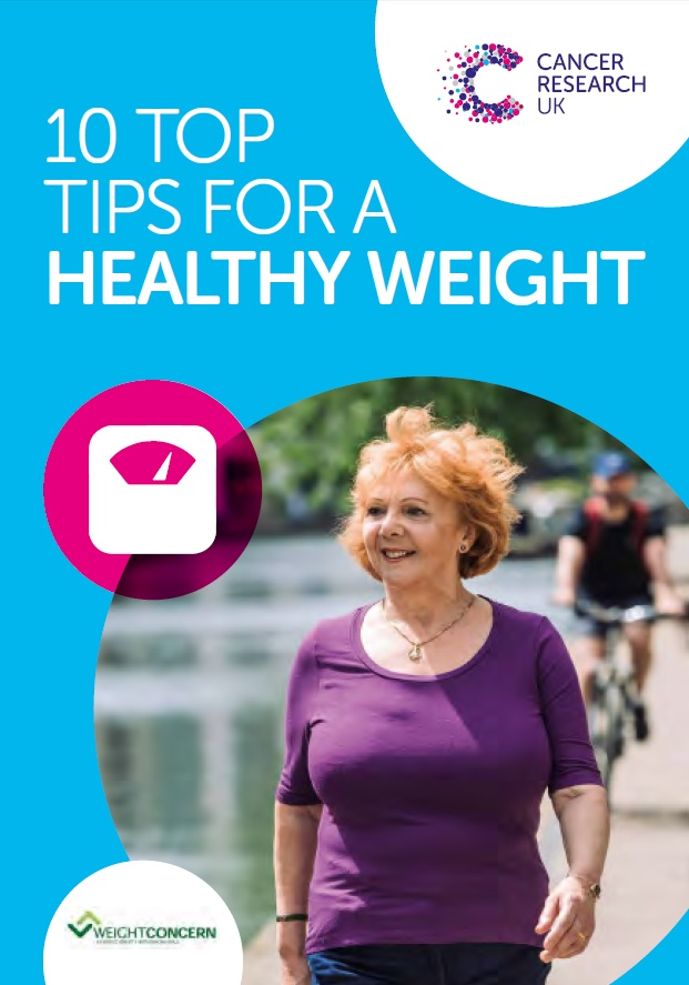 Thumbnail image for 10 Top Tips for a Healthy Weight (new edition)