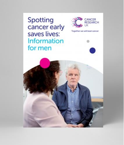 Thumbnail image for Spotting cancer early saves lives - Information for men