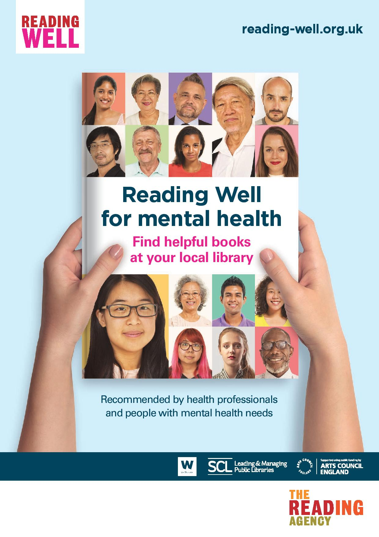 image - Reading Well for mental health (reading list leaflet)