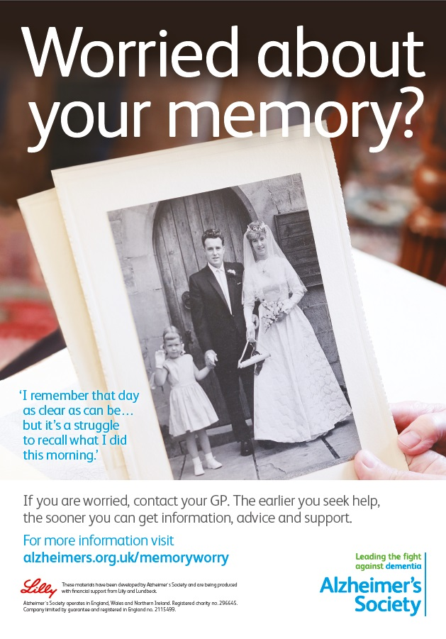 image - Worried about your memory? (A4 poster)