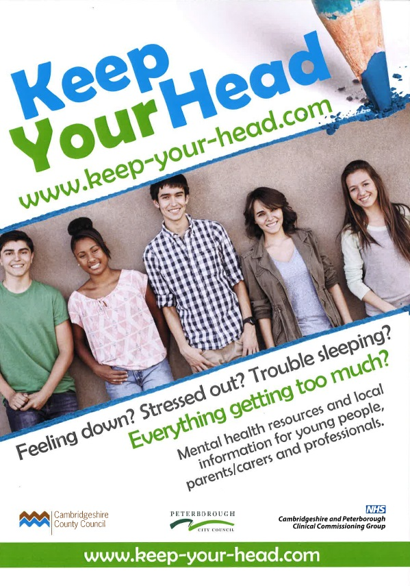 image - Keep Your Head  (A4 poster - young people edition)